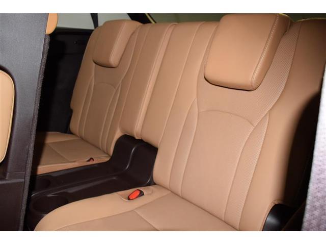RX450hL 革シート サンルーフ 4WD フルセグ メモリーナビ DVD再生 ミュージックプレイヤー接続可 後席モニター バックカメラ 衝突被害軽減システム ETC LEDヘッドランプ 乗車定員7人 3列シート(15枚目)