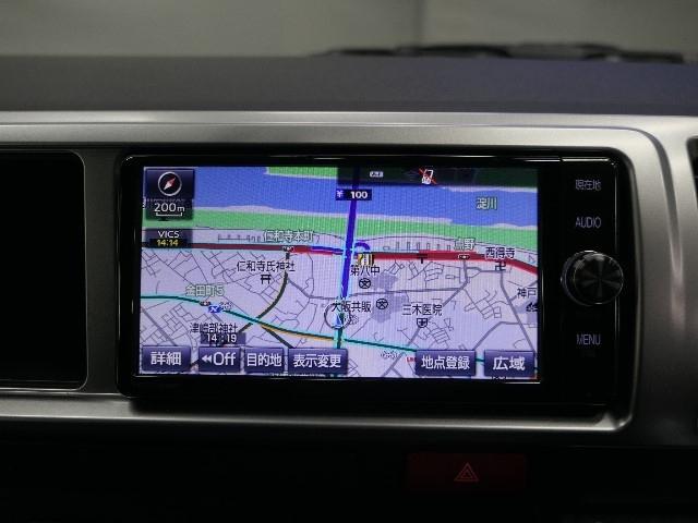ドライブやレジャーのマストアイテム!快適なドライブをサポートするSDナビ&フルセグTV付きなので、車内環境は良好です☆彡 お出掛けするのもとってもワクワクしていけそうですね〜♪