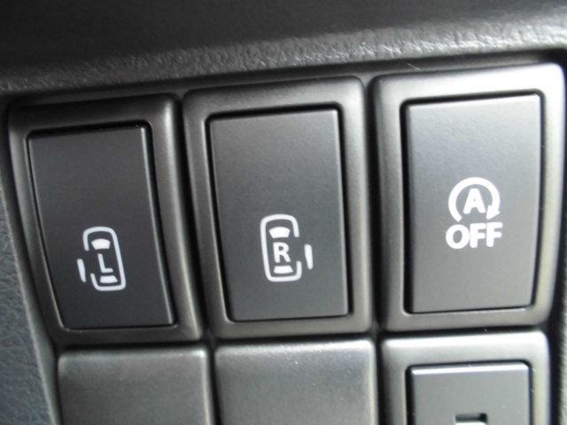スズキ スペーシアカスタム XS 両側PSドア インテリキー アイドリングストップ