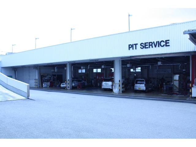 陸運局指定工場のため購入後も安心。最新の設備機器、国家資格を持ったスタッフによる車検や整備そしてメンテナンスも当社の厳しい基準を設け高品質のサービスをお届けします。