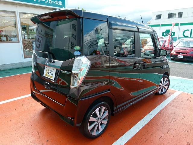三菱 eKスペースカスタム カスタムT 2WD 両電動スライド SDナビ スマートキー