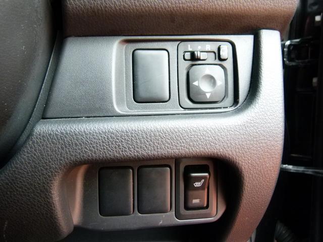 運転席シートヒーターで寒い冬もポッカポカです。