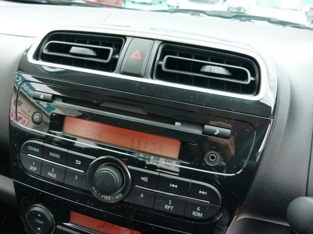 オーディオはCDチューナー内蔵です。