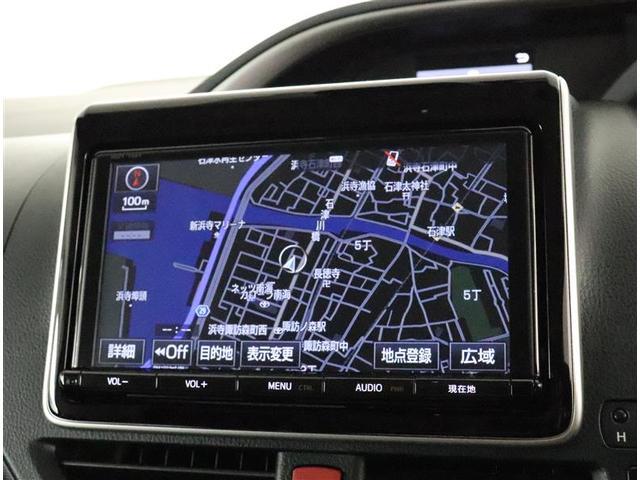 ハイブリッドZS 煌II フルセグ メモリーナビ DVD再生 バックカメラ 衝突被害軽減システム ETC 両側電動スライド LEDヘッドランプ 乗車定員7人 3列シート ワンオーナー フルエアロ(8枚目)
