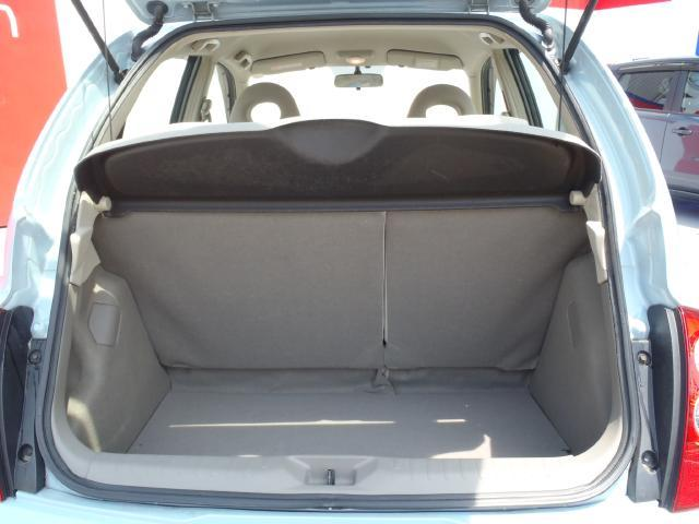 ハッチバックタイプのラゲッジスペースは以外とお荷物を載せることが可能です♪