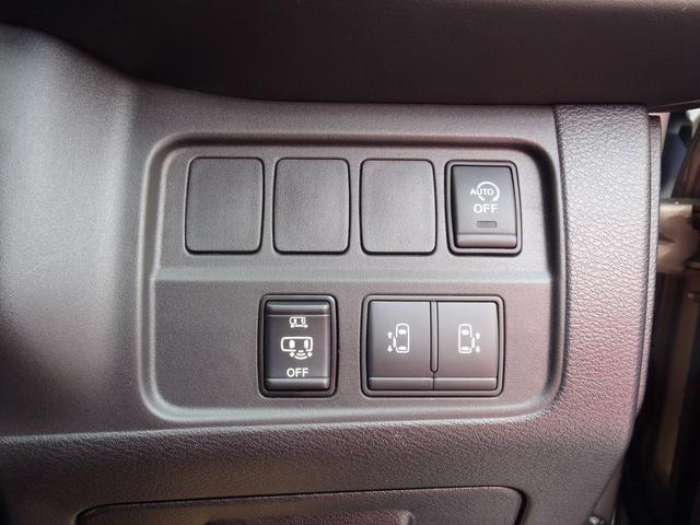 ハンズフリー両側オートスライドドアが有るので乗り降りの際に両手が塞がっていても便利です。
