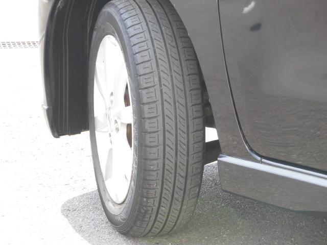 タイヤもまだまだ使用できます。