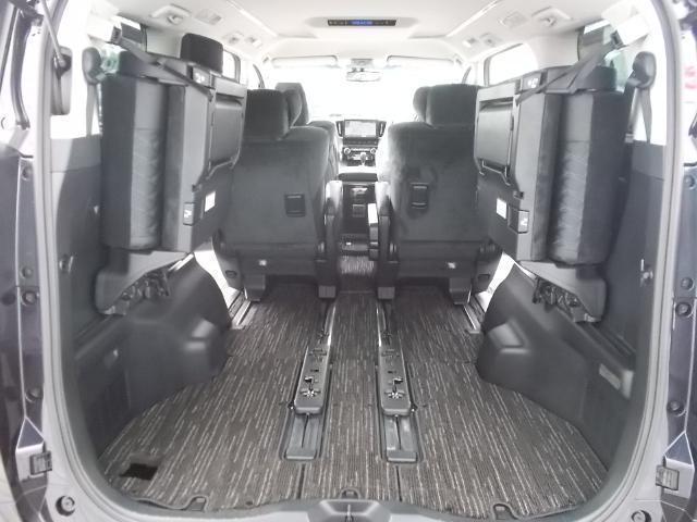 リヤシートをたためばさらに広いラゲッジスペースに変身!