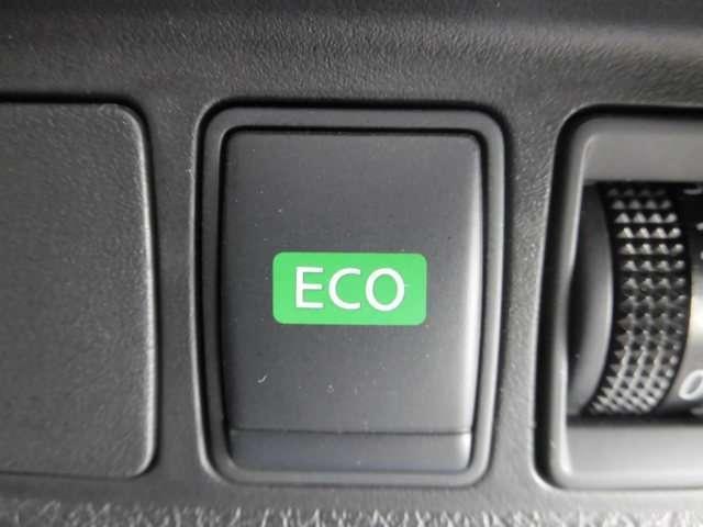 エコモードスイッチを入れると運転も優しく、お財布にも優しく