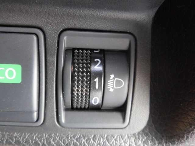 ヘッドライト高さを調整 対向車に優しく