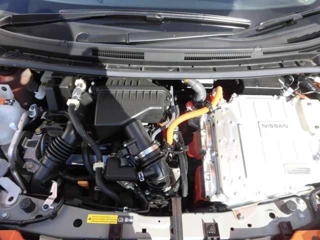 e-パワー X 当社社有車 衝突被害軽減ブレーキ 日産純正メモリーナビ アラウンドビューモニター スマートルームミラー インテリジェントキー ハイビームアシスト LEDヘッドライト アルミホイール(3枚目)