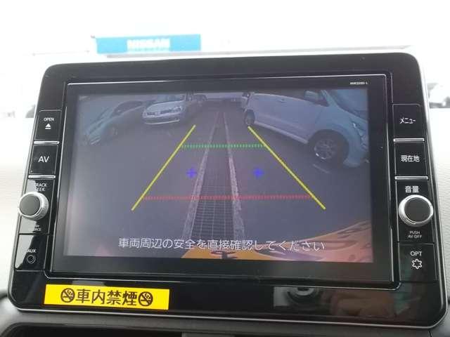 X 当社社有車 バックビューモニター(6枚目)