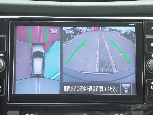 オーテック ハイブリッド iパッケージ AUTECH ハイブリッド 4WD 当社社有車 アラウンドビューモニター(4枚目)