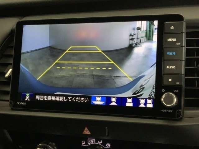 e:HEVホーム Honda CONNECT for Gathers ナビ装着用スペシャルパッケージ 純正Gathers9インチナビ(VXU-205FTI) ETC LEDヘッドライト 前後ドライブレコーダー 4WD(4枚目)