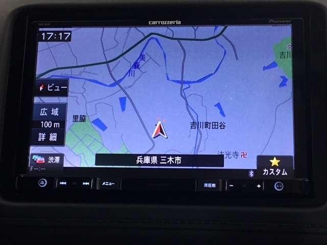 ハイブリッドX・ホンダセンシング カロッツェリア製ナビ Bluetooth接続 LEDヘッドライト オートライト リアカメラ ワンセグTV パドルシフト オートエアコン(3枚目)