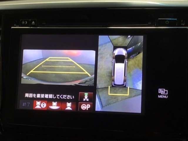 アブソルート・EXアドバンス 工場装着ナビ マルチモニターR席モニター(4枚目)