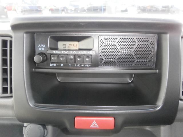 ラジオ付きで、快適なドライブをサポート致します!