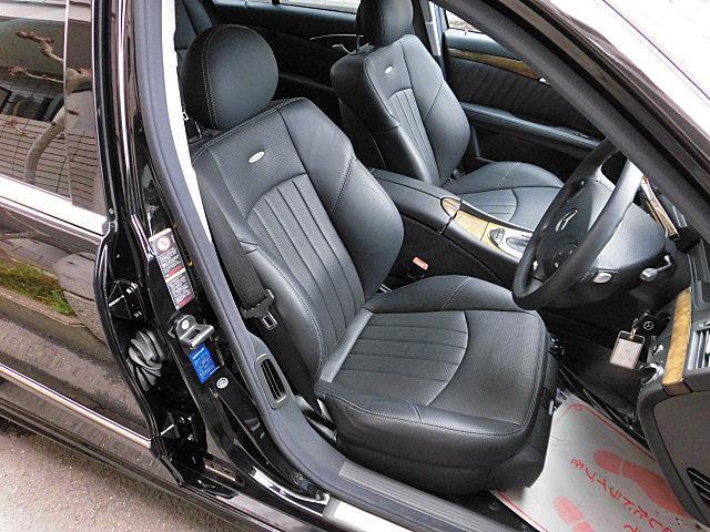 E55 AMG ブラックレザーシート サンルーフ(9枚目)