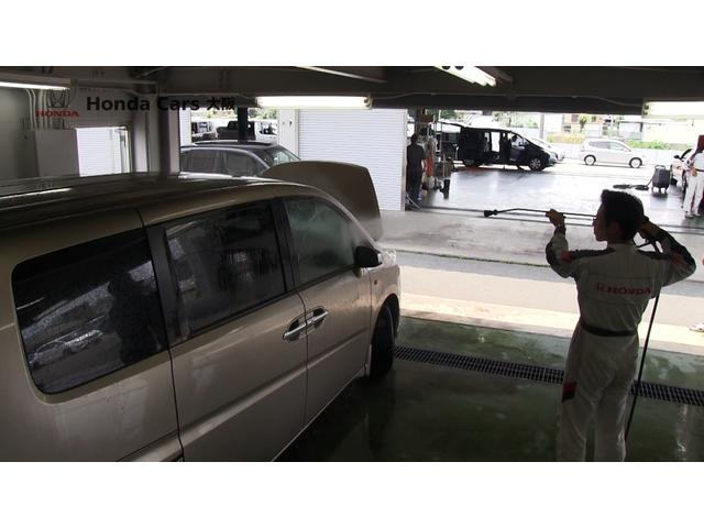 高圧の洗浄機も使い ボディを洗車しております。