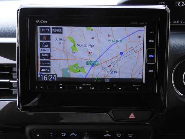G・Lホンダセンシング ワンオーナー メモリーナビ ETC フルセグ リアカメラ 衝突被害軽減ブレーキ LED 左側電動スライドドア 純正14インチAW(3枚目)