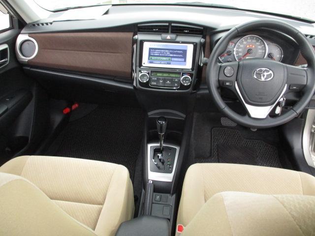 トヨタ カローラアクシオ 1.5G  ワンオーナー   メモリーナビ  ETC付き車