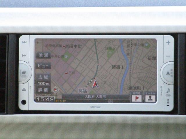 トヨタ パッソ X ワンセグメモリナビ付