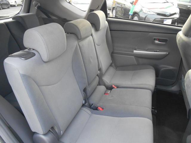 トヨタ プリウスアルファ S ワンオーナー車 HDDナビ フルセグTV バックカメラ