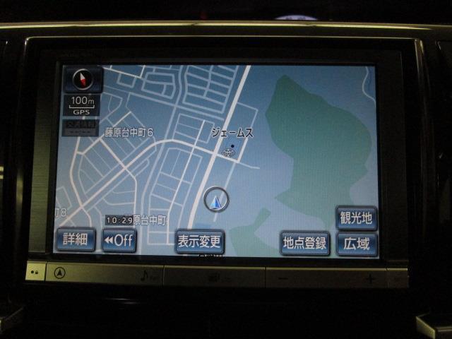 アエラス フルセグ HDDナビ DVD再生 バックカメラ ETC 両側電動スライド HIDヘッドライト ウオークスルー 乗車定員8人 3列シート ワンオーナー(13枚目)