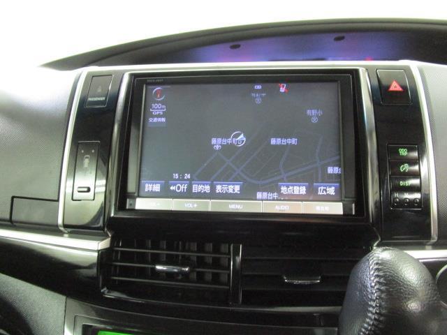 アエラス プレミアムエディション フルセグ メモリーナビ DVD再生 バックカメラ ETC 両側電動スライド HIDヘッドライト 乗車定員7人 3列シート(15枚目)