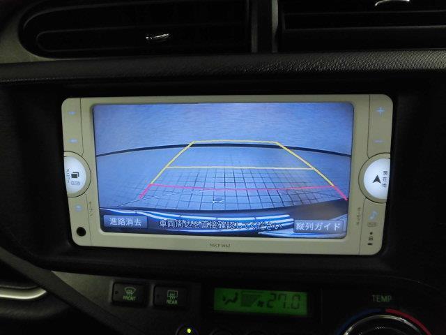 トヨタ アクア G メモリーナビ ワンセグ バックカメラ CD ワンオーナー
