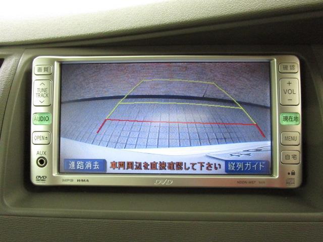 L DVDナビ DVD再生 バックカメラ 電動スライドドア ウオークスルー 乗車定員7人 3列シート ワンオーナー(10枚目)
