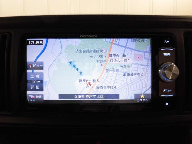 トヨタ パッソ X メモリーナビ ワンセグ CD DVD再生 キーレス