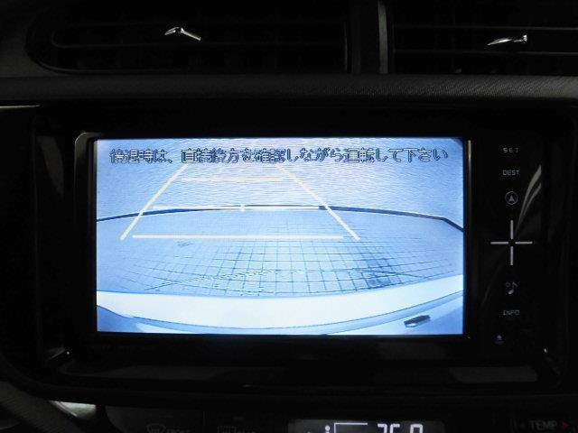 トヨタ アクア Sスタイルブラック 地デジナビ CD DVD再生 Bカメラ