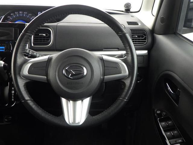 ハンドル回りも広く運転操作しやすくなってます