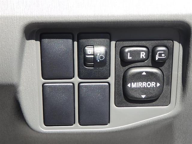 電動格納ミラーです。狭い駐車場では必需品。