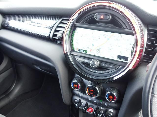 ジョンクーパーワークス ワンオーナー ペッパーPKG LEDヘッドライト 専用JCW17インチAW ヘッドアップディスプレイ ミラーETC レッドルーフ スポーツシート クルコン パドルシフト(59枚目)