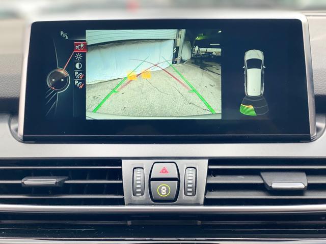 218iグランツアラー ラグジュアリー 後席モニター 電動トランク LEDヘッドライト ブラックレザーシート シートヒーター アクティブクルーズ ヘッドアップディスプレイ 純正17インチアロイホイール ミラーETC バックカメラ F46(13枚目)