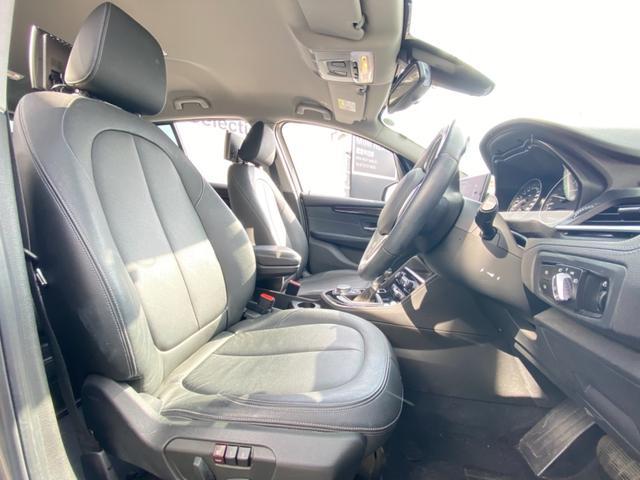 218iグランツアラー ラグジュアリー 後席モニター 電動トランク LEDヘッドライト ブラックレザーシート シートヒーター アクティブクルーズ ヘッドアップディスプレイ 純正17インチアロイホイール ミラーETC バックカメラ F46(49枚目)