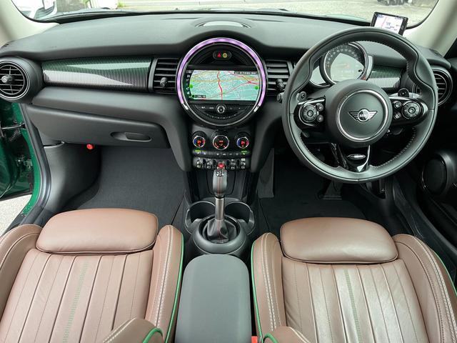 クーパーSD 60イヤーズエディション 60イヤーズエディションワンオーナー車LEDヘッドライトブラウンレザーシートヒーターバックモニターパークディスタンスコントロールコンフォートアクセス純正AWドライビングモードミラーETC(36枚目)