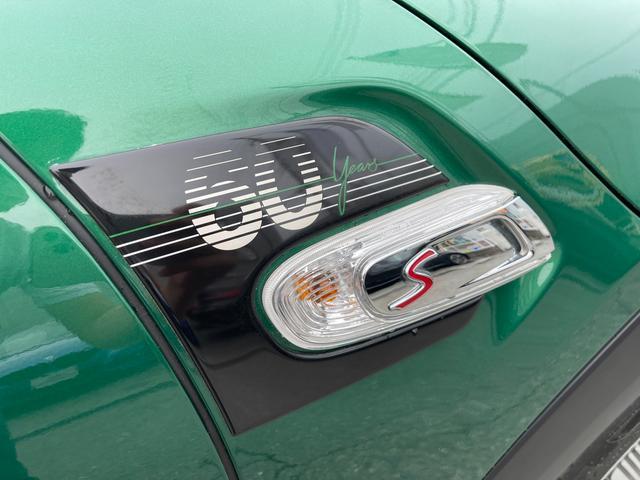 クーパーSD 60イヤーズエディション 60イヤーズエディションワンオーナー車LEDヘッドライトブラウンレザーシートヒーターバックモニターパークディスタンスコントロールコンフォートアクセス純正AWドライビングモードミラーETC(39枚目)
