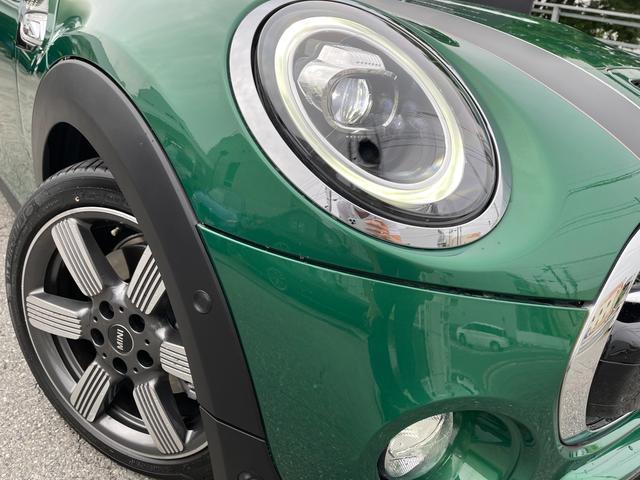 クーパーSD 60イヤーズエディション 60イヤーズエディションワンオーナー車LEDヘッドライトブラウンレザーシートヒーターバックモニターパークディスタンスコントロールコンフォートアクセス純正AWドライビングモードミラーETC(69枚目)