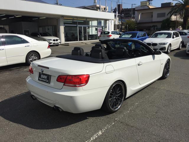 BMW BMW 335iカブリオレ Mスポーツ 社外マフラー 全国1年保証