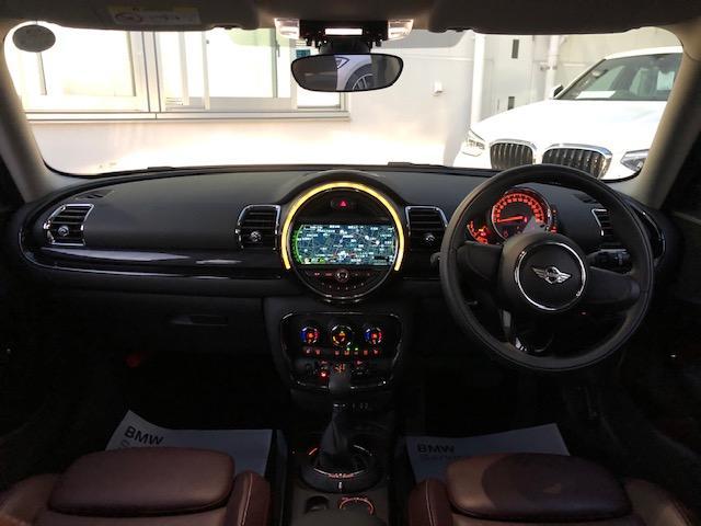 クーパー クラブマン 純HDDナビ・ワンオーナー・ベーガンディ革・シートヒーター・アイドリングストップ・メモリー機能付電動シート・ETC・フォグライト・純正AW・ステップトロニック・ブラックルーフ・ドライビングモードF54(6枚目)