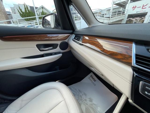 218dアクティブツアラー セレクション ・特別使用車・アクティブクルーズコントロール・LEDjヘッドライト・ブレーキ軽減システム・レーンディパチャーウォーニング・SOSコール・コネクティッドドライブ・オートトランク・ヘッドアップディスプレイ(19枚目)