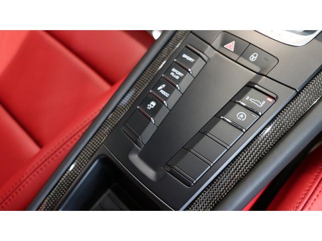 <ターボS標準装備>・PTM(ポルシェトラクションマネージメントシステム・フルタイム4WD)・PASM(ポルシェアクティブサスペンションマネージメント)