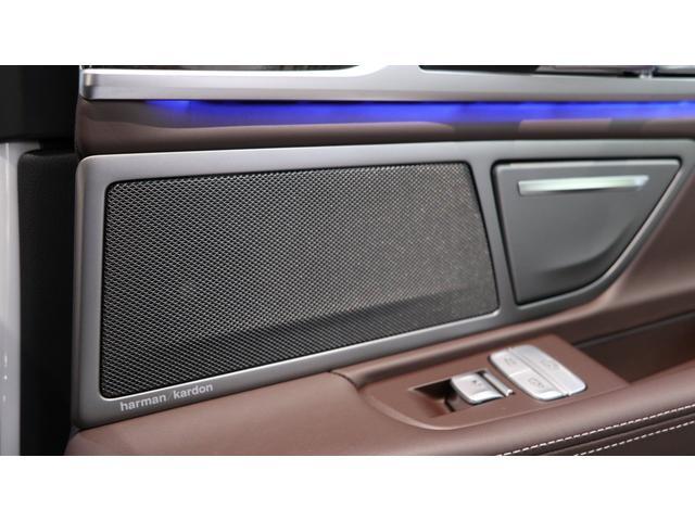 740eアイパフォーマンス Mスポーツ エナジーコンプリートカーEVO G11.2 ガラスサンルーフ ドライブレコーダー レーダー探知機 H30・R1年ディーラー点検記録簿有 レーザーヘッドライト ブラウンレザーシート 新品エナジー20AW(44枚目)