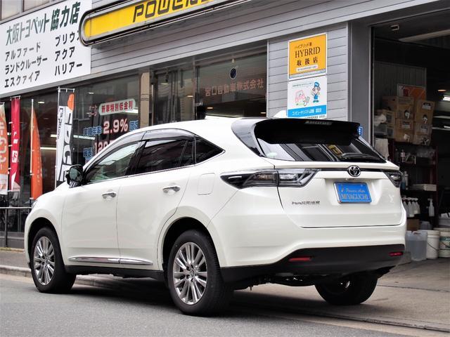 「トヨタ」「ハリアー」「SUV・クロカン」「大阪府」の中古車5