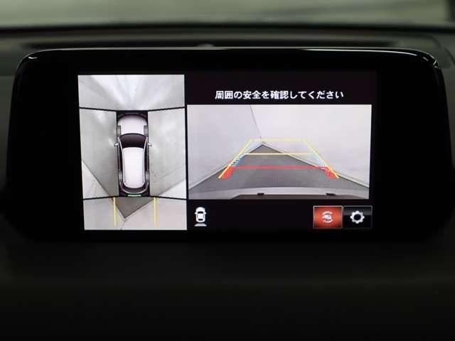 2.5 25T Lパッケージ 4WD マツダ認定中古車 サポカー 7人乗り3列シート サポカー 衝突被害軽減ブレーキ マツダコネクトメモリーナビ 360度カメラ BOSE スマートインETC LEDヘッドライト(7枚目)