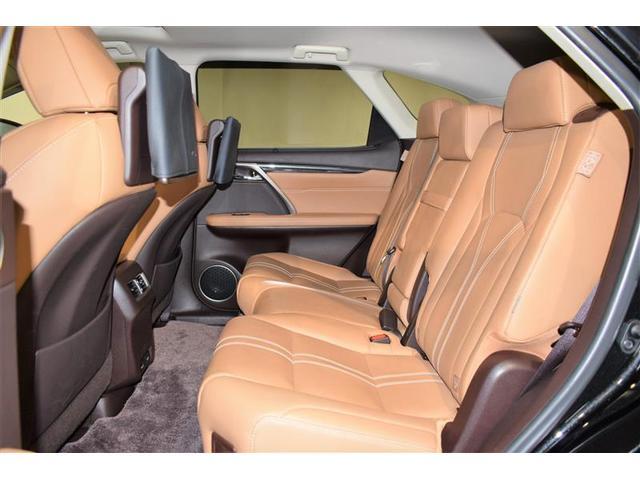 RX450hL 革シート サンルーフ 4WD フルセグ メモリーナビ DVD再生 ミュージックプレイヤー接続可 後席モニター バックカメラ 衝突被害軽減システム ETC LEDヘッドランプ 乗車定員7人(8枚目)