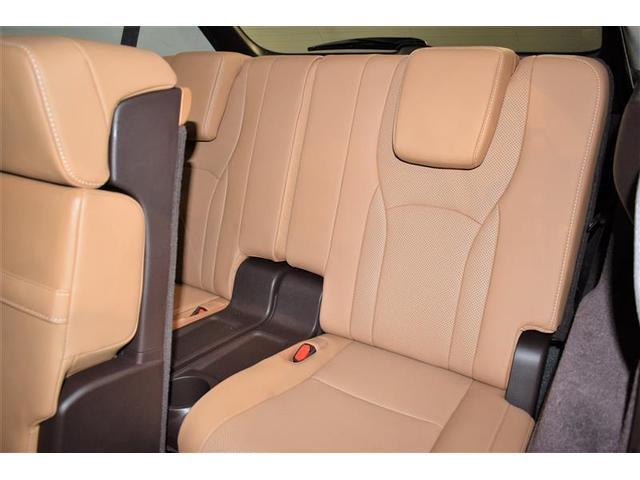 RX450hL 革シート サンルーフ 4WD フルセグ メモリーナビ DVD再生 ミュージックプレイヤー接続可 後席モニター バックカメラ 衝突被害軽減システム ETC LEDヘッドランプ 乗車定員7人(9枚目)